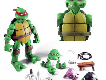 Teenage Mutant Ninja Turtles Raphael 1:6 Scale Collectible Action Figure - Free Shipping