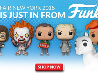 Pre-Order The FUNKO from Toy Fair 2018!!