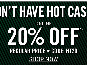 20% OFF at Hot Topic!!