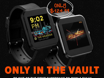 EXCLUSIVE: Fully Immersive Gamified Batman or Flash Smartwatch