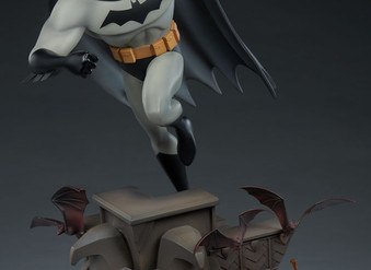Animated Batman Statue by Sideshow Collectibles
