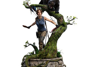GORGEOUS Shadow of the Tomb Raider Lara Croft Statue