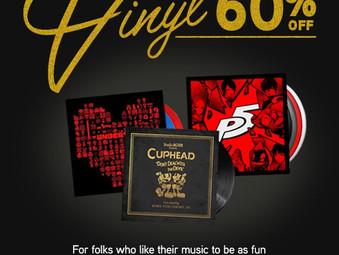 60% OFF Vinyl Sale!!