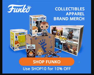 10% OFF anything from Funko