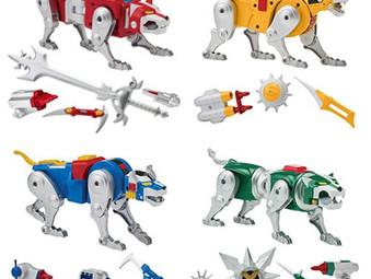 Voltron Classic Combinable Lion Action Figure Set