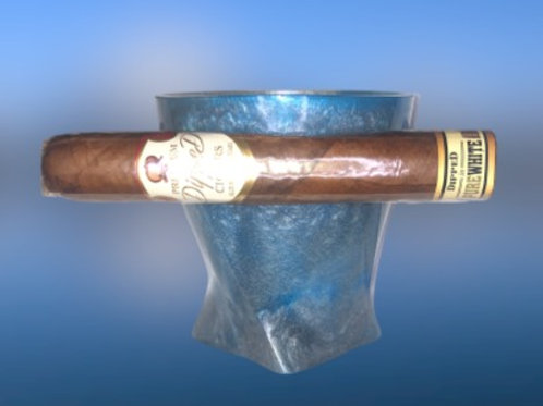 Whiskey Cigar Resin Cup