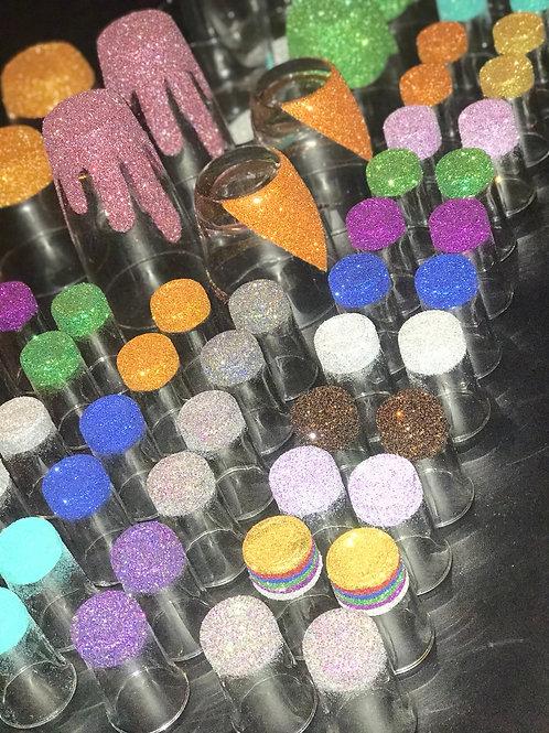 Glittered Shot Glass Set