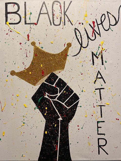 Black Lives Matter Canvas