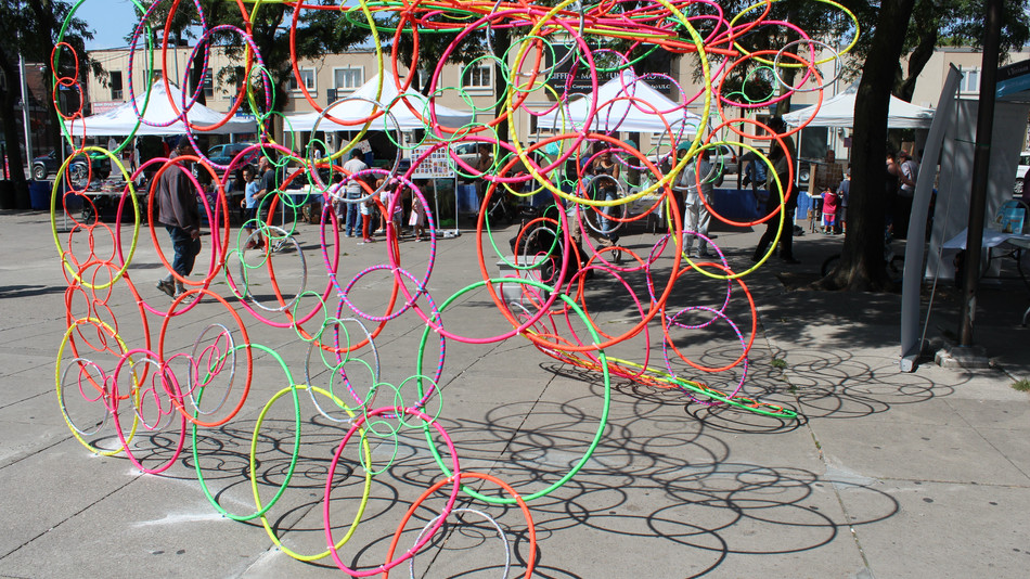 Intertwined: Public Art Installation