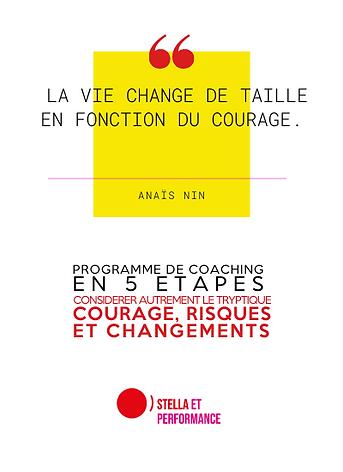 COURAGE ET CHANGEMENT