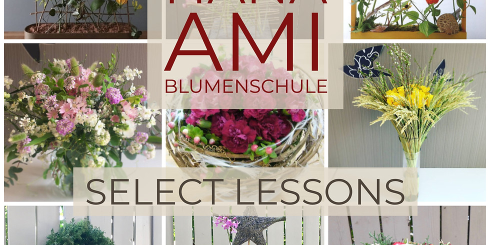 Hana Ami Blumenschule Select Lessons