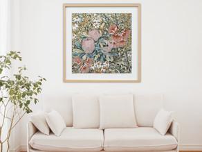 Affordable framing options for fine art prints