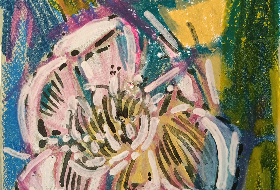 """""""ABSTRACT FLORAL 1"""""""