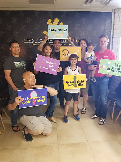 Come out to escape chandler and get a coupon worth 25% off, that's a 25% savings off our regular pricing just because it is hot so we can all beat the heat together and dare to escape chandler's Only #1 escape room!  We don't offer escape room groupon deals, but we do offer escape room discount codes and escape room deals.  Give us a call!