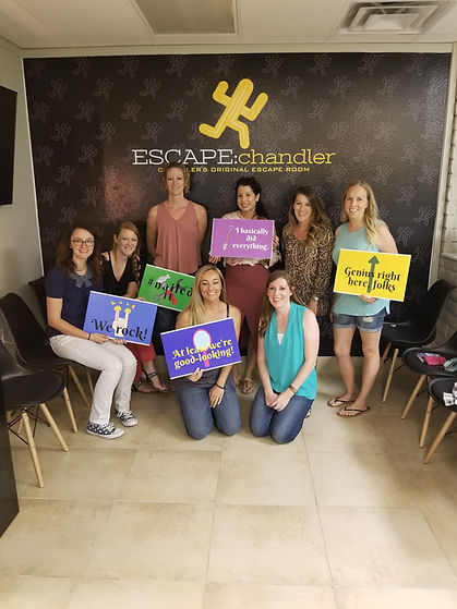 This escape room place is awesome. Went to the cabin and Tony's Bistro. My sisters and I went for their birthday's. Had a blast. This is the first one I have gone to but my sisters have been to others. They said this is the best one they have gone to so far. The staff was awesome (especially Lorelei). I am excited to return and escape the pawn shop with my husband next month. Also excitedly awaiting the Latest Motel coming soon. Great job guys. I will return with others and highly recommend you to all my friends!  This is an absolute gem in the Valley! Our GM Brian was great, the ownership team rocks, and the rooms deliver on all aspects. Creatively, aesthetically, and entertainment value are all 5+ stars. I could go on with a long review but to put it simply, the only regret you will have about playing here is that they don't have more rooms (yet)!