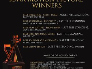 Last Tree Standing wins 11 🏆 IMPA Awards!