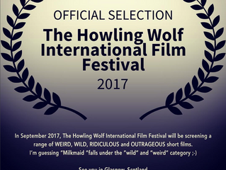 Milkmaid accepted to the Howling Wolf International Film Festival 📽