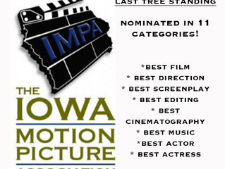 🏆 Last Tree Standing nominated in 11 categories for the 2018 Iowa Motion Picture Awards!