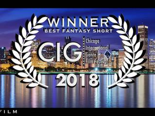 Last Tree Standing wins Best Fantasy Short in Chicago!