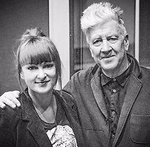 Agnes Baginska and David Lynch