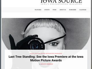 Interview for the Iowa Source Magazine