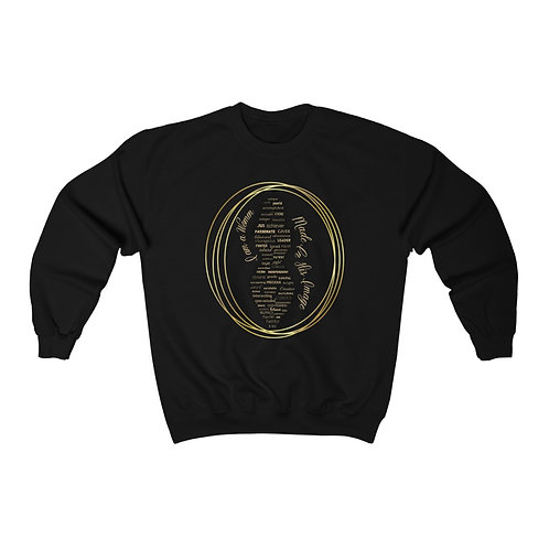 """I AM"" Crewneck Sweatshirt"