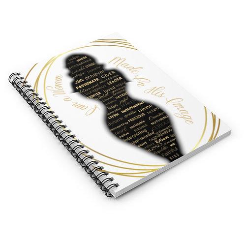 """I AM"" Spiral Notebook - Ruled Line"