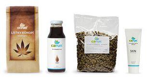 Ochutnávka konopných produktů od firmy Carum