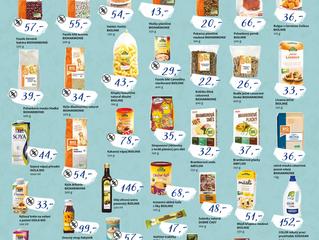 Nové akční ceny na vybrané výrobky