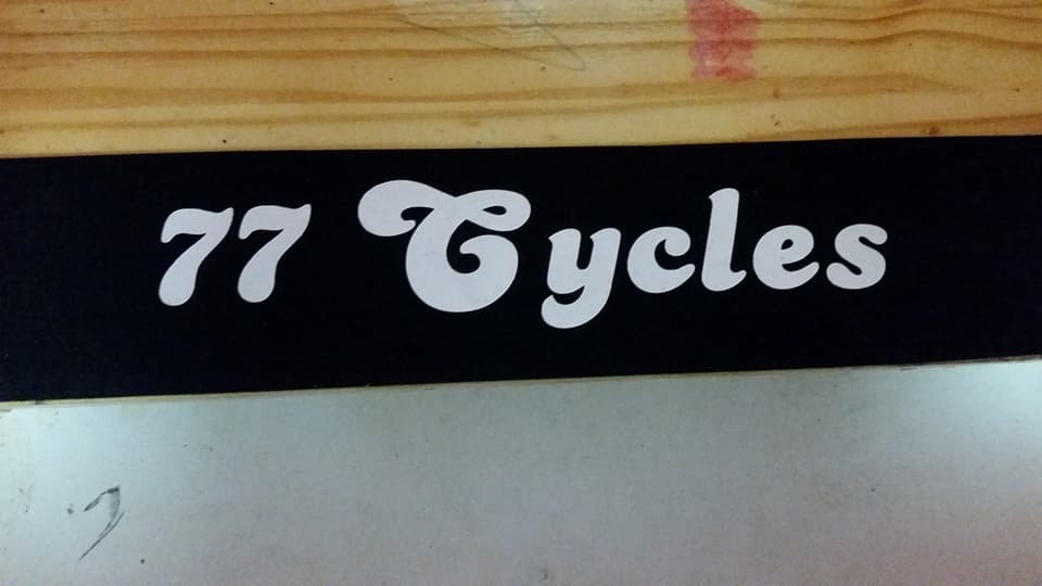 Black 77 Cycles Retro Bandanna