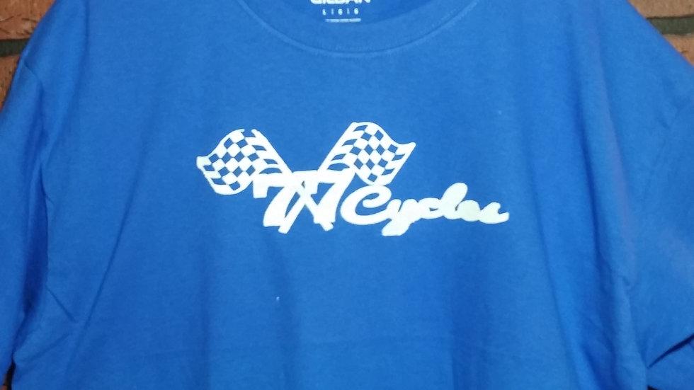 77 Cycles (Original Logo) BLUE