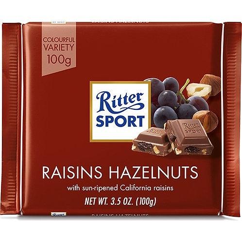 Ritter Sport Üzümlü Fındıklı Çikolata