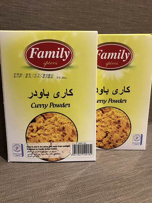 Family Spices Curry Powder