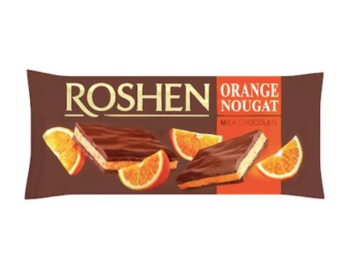 Roshen Orange Nougat Milk Chocolate