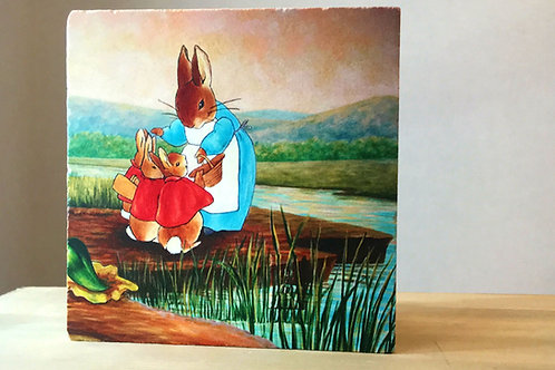 Traverten Taşı Nihale-Peter Rabbit Serisi