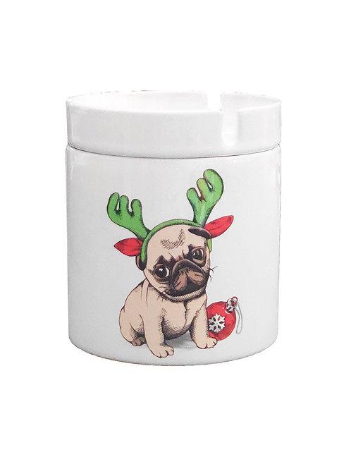 Paperchase İngiliz Bulldog Yeni Yıl Küllük