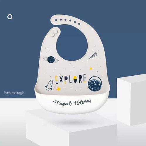 Smile Everyday Explore Silikon Önlük