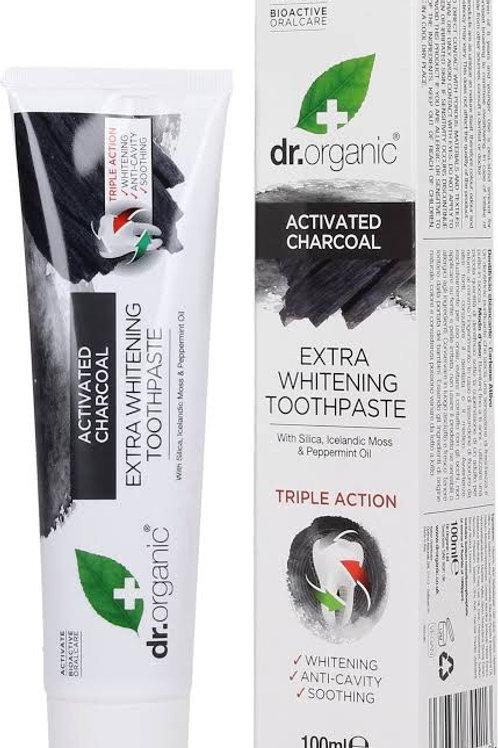Dr Organic Charcoal Organik Diş Macunu
