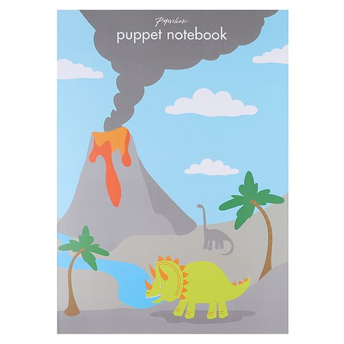 Paper Chase Puppet Notebook