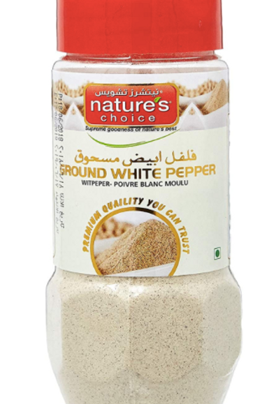 Natures Choice White Pepper Powder