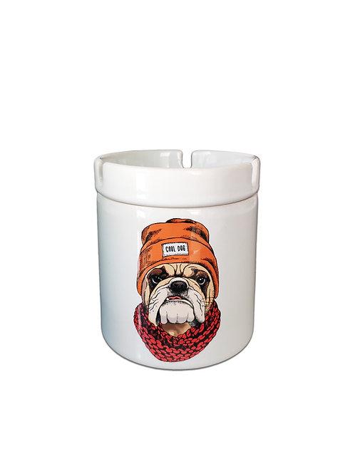 Cool Dog Dumansız Porselen Kül Tablası
