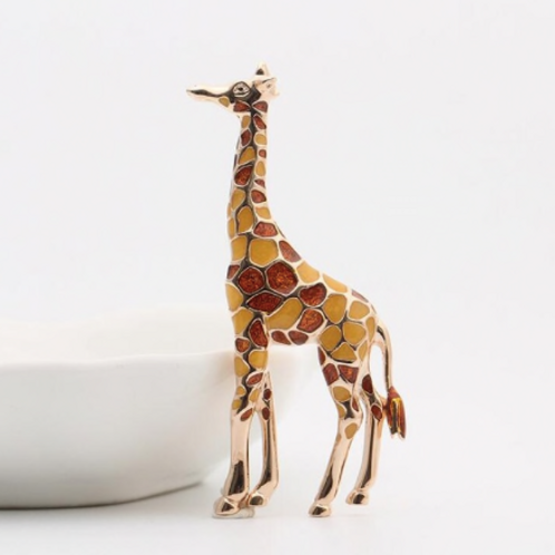 Selfridges Giraffe Tasarım Broş