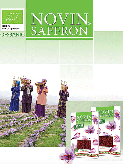 Novin Organik Saf Safran
