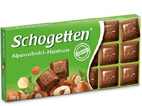 Schogetten Alpine Fındıklı Sütlü Çikolata