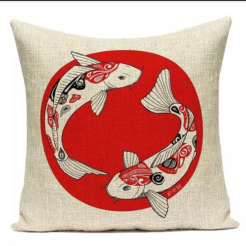 Nordic Homes Tasarım Kırlent Balıklar