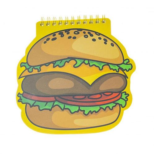 Hamburger Şekilli Not Defteri
