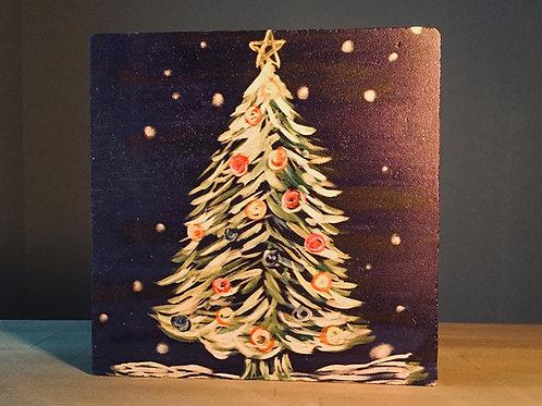 Yılbaşı Serisi - Christmas Tree at Night Nihale