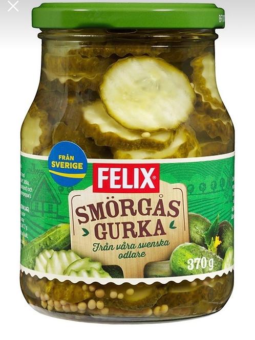 Felix Dilimlenmiş İsveç Usulü Salatalık Turşusu