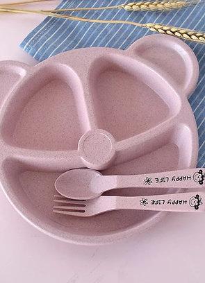 Primark Bebek Yemek Tabağı ve Kaşık Çatal Seti