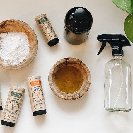 Use these 4 Ingredients to Spring Clean Your Entire Home: Part 1